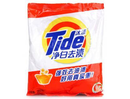bolsa de polvo de lavado