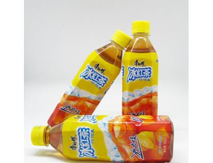 Lable botella de hielo Té Rojo